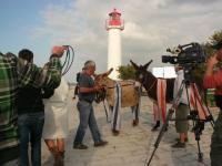 tournage télé ane