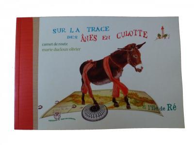 Sur la route des ânes de l' Île de Ré...