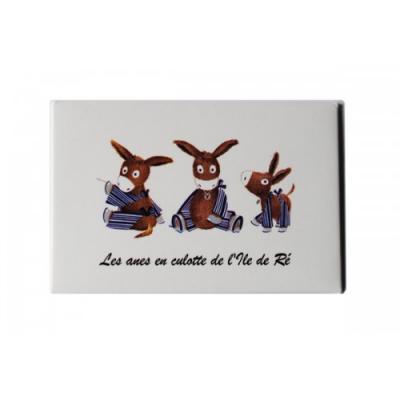 "Magnet "" 3 petits ânes """