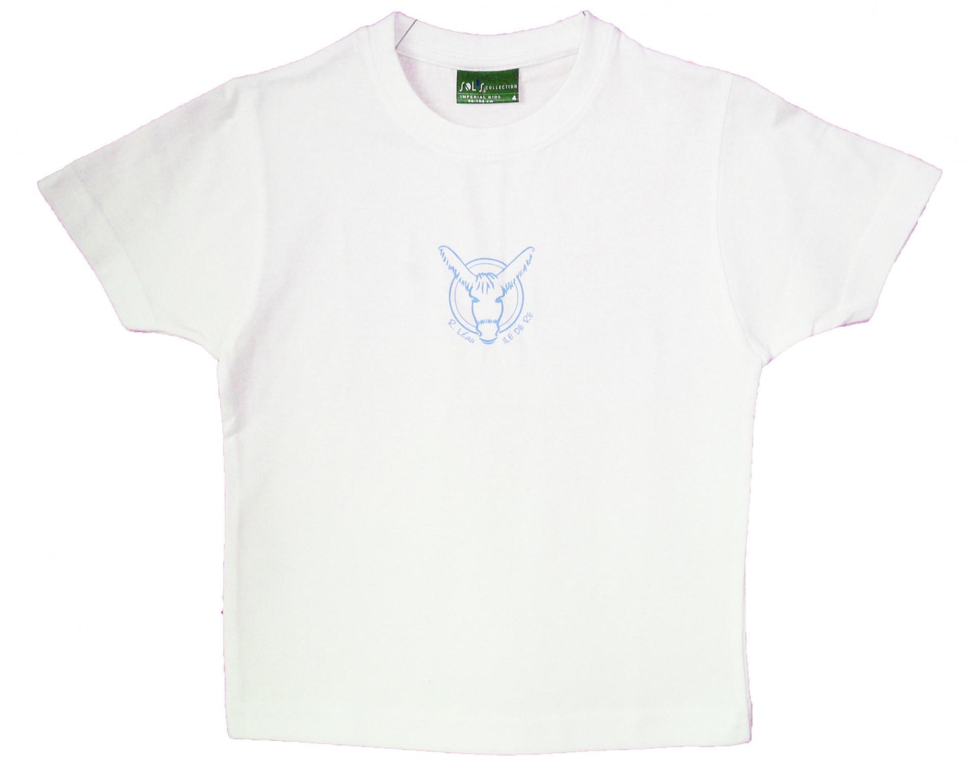T-shirt enfant - Logo - Bleu