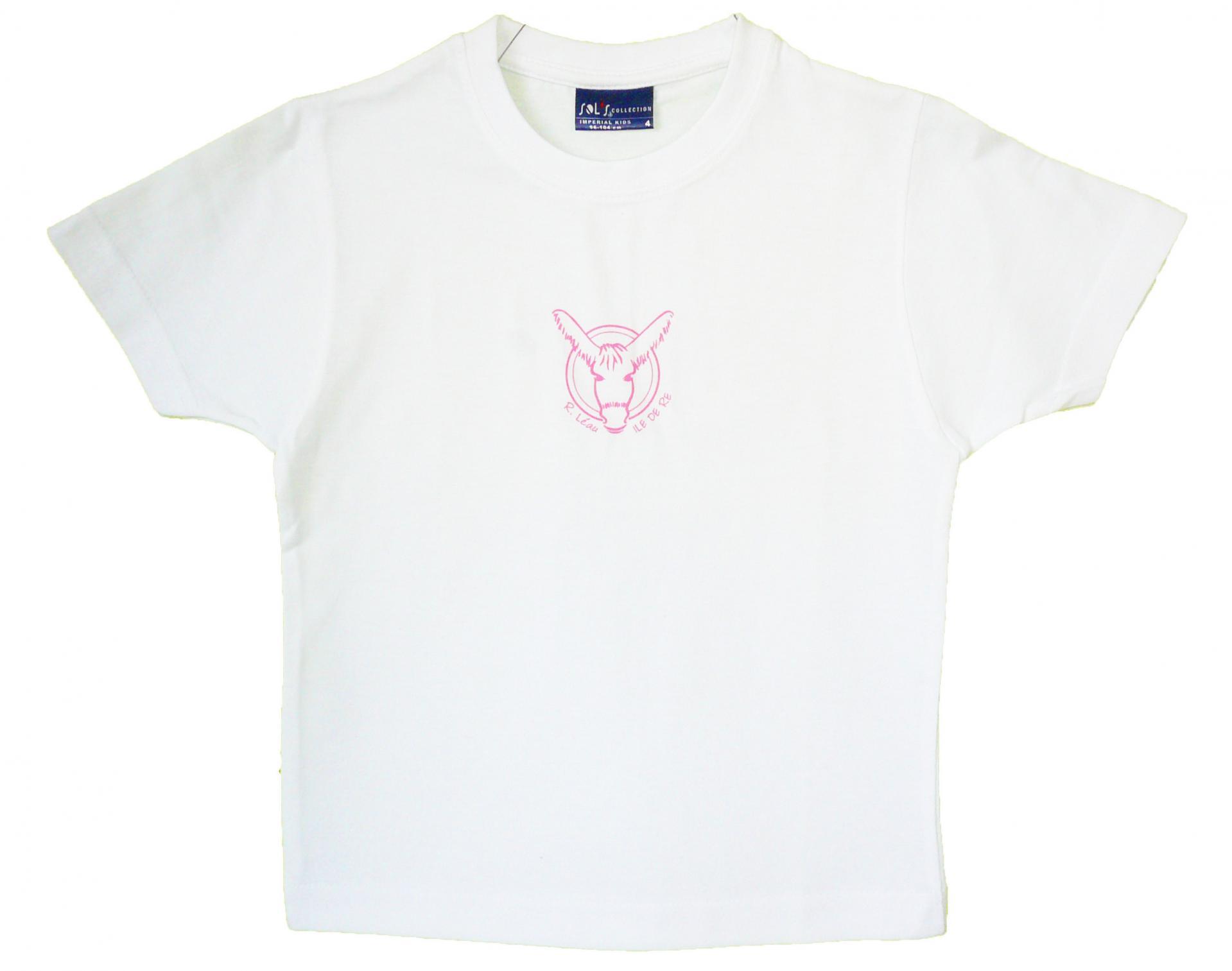 T-shirt enfant - Logo - Rose